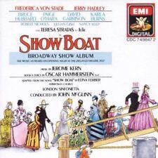 SHOW BOAT Broadway Album CD 1988 Studio Cast MINT CONDITION disc & case