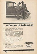 W1548 Servo freno MAGNETI MARELLI  - Pubblicità del 1930 - Vintage advertising