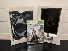 Official Assassin's Creed III Collectors Edition Flag, Journal, and Belt Buckle