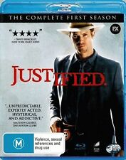 Justified Complete Series 1 Blu Ray All Episode First Season Original UK Release