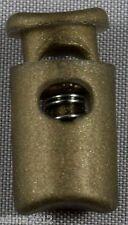 10 Stück (0,15 €/Einheit) Kordelstopper zylinder Einloch 4mm klein