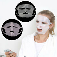 REUSABLE Silicone Sheet Mask Cover Holder Face Steam Prevents Evaporation