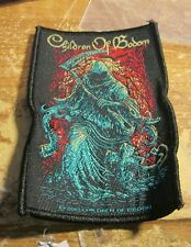CHILDREN OF BODOM COLLECTABLE RARE PATCH ENGLISH WOVEN  METAL