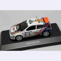 1:43 Car Model 80012 FORD FOCUS WRC - MARTINI