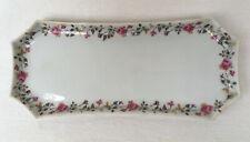 Porcelaine Porzellan Platte f. Konfekt Limoges Giraud Sauvlat 23,5 x 10,5 cm