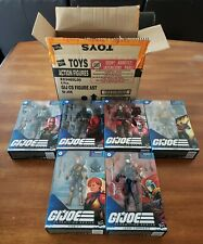 GI Joe Classified Wave 1 Complete Set + Cobra Commander Lot w/ Shipping Box