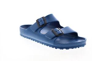 Birkenstock Arizona EVA 129431 Mens Blue Synthetic Flip-Flops Sandals Shoes 11