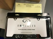 INFINITI 999MB-YV000BP License Plate Frame BLACK IN STOCK AND READY TO SHIP OUT
