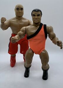 Vintage 1985 AWA Remco Greatest Grudge Matches Carlos Colon Abdullah The Butcher