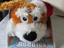 Chuckle Buddies Santa Dog...Motion Activated Rolling and Laughing Friends