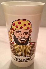 Vintage 1989 Long John Silver's Plastic Cup Billy Bones 20th Anniversary