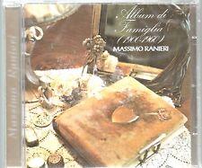 MASSIMO RANIERI CD ALBUM DI FAMIGLIA nuovo SIGILLATO Abbinamento Mondadori Edit.