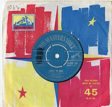 """Poni Tails - Early To Bed 7"""" Single 1959"""