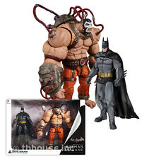 BATMAN VS BANE figure ARKHAM ASYLUM 2-PACK city DC COLLECTIBLES origins DIRECT