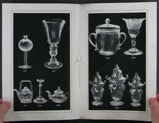 Antique Irish Glass - 1924 Walter Harding Collection Catalog