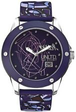 Marc Ecko The Tran Men's E09530G4 Purple Dial Silicone ZK Analog Casual Watch