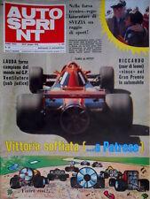 Autosprint 25 1978 Lauda campione del mondo. Patrese vince il GP Svezia  SC.51