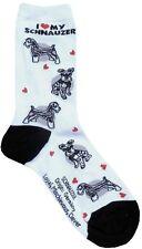 I Love My Schnauzer (631114) Women Size Socks