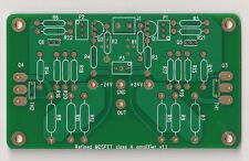 Mosfet pure class A amplifier refined w/ improved symmetry PCB one piece !