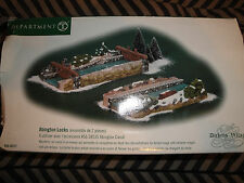 Department 56 Dicken's Village Abington Locks Set of 2 #58521
