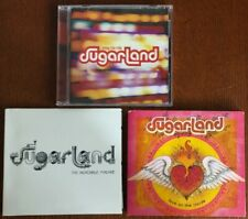 SUGARLAND* Love On The Inside / The Incredible Machine / Enjoy the Ride * 3 CDs