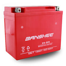 Banshee Replaces YTX20-BS High Performance Motorcycle Battery 4-Year Warranty