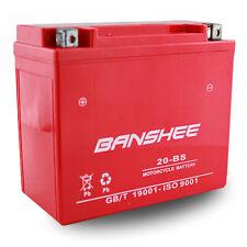 Banshee Replacement GYZ20H YTX20-BS YTX20H-BS YB16-B-CX 12V Sealed AGM