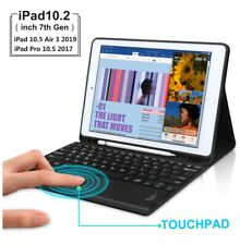 Touchpad Keyboard Case for iPad 7th Gen 10.2 2019/Air 3/ iPad 10.5 2017bluetooth