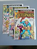 The Eternals Limited Series #9 #10 #11 NEW MOVIE 1985 Vol2