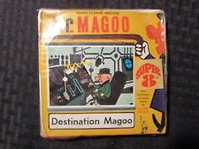 Vintage MR MAGOO Destination Magoo 8mm Home Movie SEALED Columbia M-11