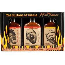 Pain Is Good Hot Sauce Gift Set Jamaican Louisiana Garlic Spicy Habanero Chilli