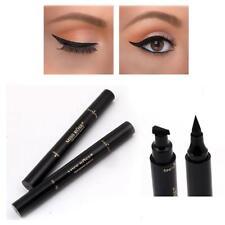 Delineador De Ojos sello resistente al agua Cosméticos Maquillaje Negro Líquido