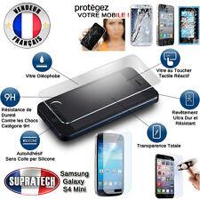 Protection d'Ecran en Verre Trempé Contre les Chocs pour Samsung Galaxy S4 Mini
