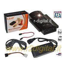 ADAPTADOR LINQ USB 2.0 IDE SATA DISCO DURO HD 2.5 y 3.5 compatible con 3.0