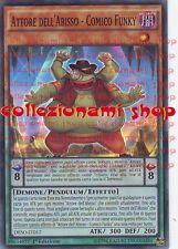 DESO-IT017 ATTORE DELL'ABISSO - COMICO FUNKY - SUPER RARA - ITALIANO