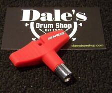 Drums Ahead DKGR drum key with ergonomic rubberized grip red Nice Drummer Gift