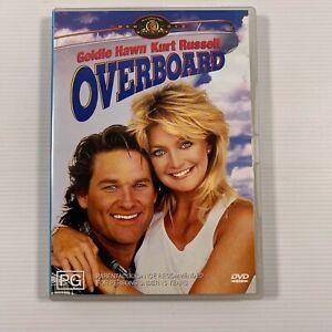 Overboard (DVD 2004) 1987 film Kurt Russell Goldie Hawn Region 4