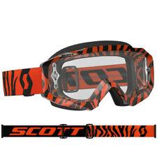 SCOTT MX Hustle Motocross Lunettes de protection noir / Orange Tiger