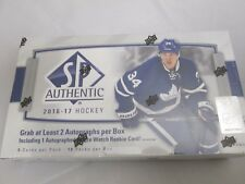 2016-17 UPPER DECK SP AUTHENTIC HOCKEY HOBBY BOX