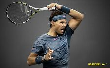 "RAFAEL NADAL RARE ""NO EXCUSES"" ATP TOUR CHAMPION POSTER NO. 1"