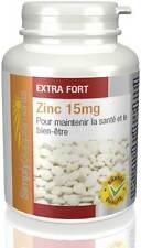 Zinc 15mg - Favorise un bon système immunitaire & santé générale - 120 comprimés