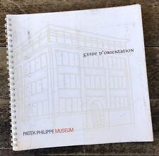 PATEK PHILIPPE Museum Guide Book Catalogue 2005 Gondolo Calatrava Rattrapante