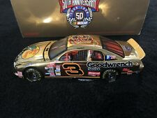 3 Dale Earnhardt RARE GOLD 1998 GM Goodwrench Bass Pro Shop 1/32 Car NASCAR
