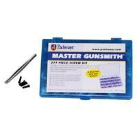 Pachmayr 03054 Master Gunsmith Screw Kit Variety 277 Screws w/Tweezers