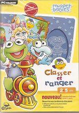 """Muppet Babies """"Classer et ranger""""  2-5 ans (NEUF EMBALLE)"""