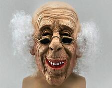 Inquietante VECCHIO Grandad MASCHERA PARRUCCA, HALLOWEEN FANCY DRESS