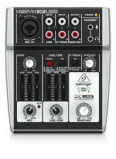 Behringer 302USB Xenyx petit format Mixer XLR USB Home Studio