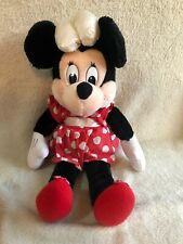 """Vintage Minnie Mouse Soft Plush Toy by Applause - 17"""""""