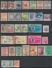Thailand 1955-1963 hi val selection 32 diff used stamps cv $68
