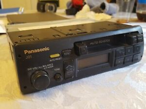 VINTAGE PANASONIC J01 RADIO CASSETTE PLAYER *UNTESTED* FORD Porsche BMW AS IS